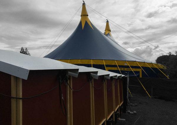location chapiteau de cirque bretagne 25m rond