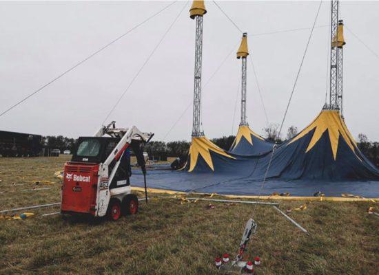 montage chapiteau de cirque pays de loire